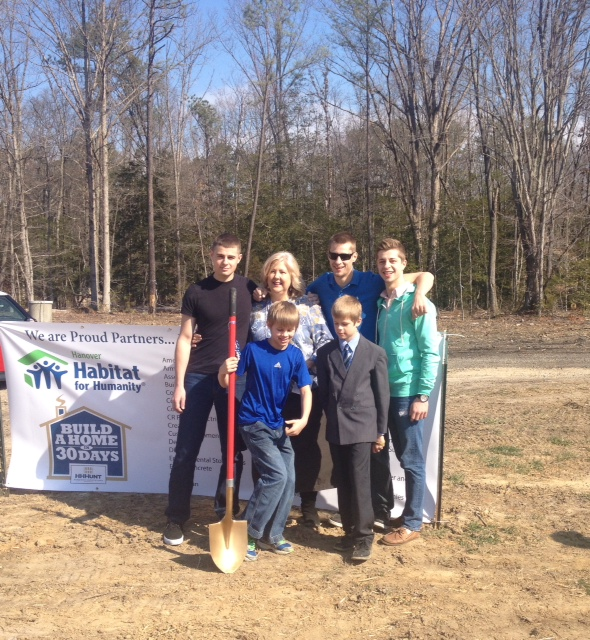 HHHunt Partners with Hanover Habitat for Blitz Build