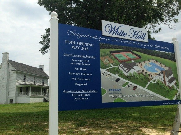 New Amenities Shine at White Hall!