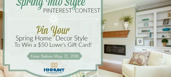 Enter our Spring Into Style Pinterest Contest & Win!