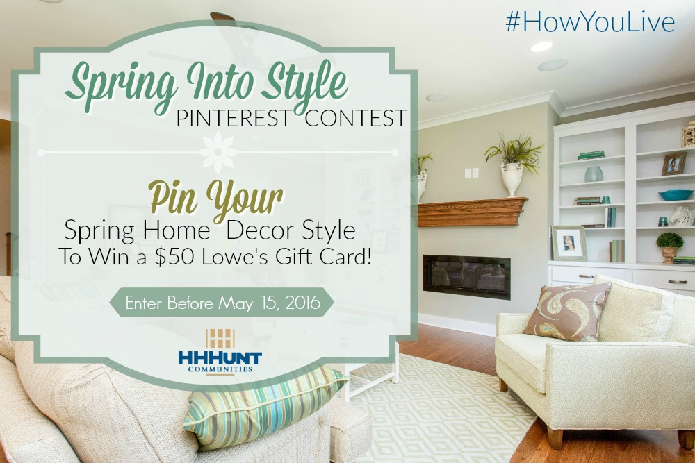 Enter our Spring Into Style Pinterest Contest and Win!