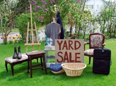 Weekend Event: Spring Yard Sales in HHHunt Communities