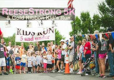 Join us at the 8th Annual ReeseStrong 5k at Rutland!