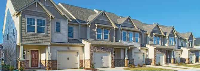 Enjoy Comfort and Convenience in Hanover County, Virginia with Rutland's New Garage Townhomes