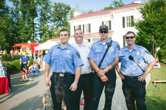 HHHunt Communities Thanks the Richmond Region's First Responder Community